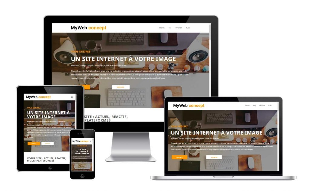 myweb-concept : responsive !