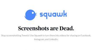 Squawk : un outil pour transformer vos tweets en vidéos engageantes pour Instagram, LinkedIn et Facebook